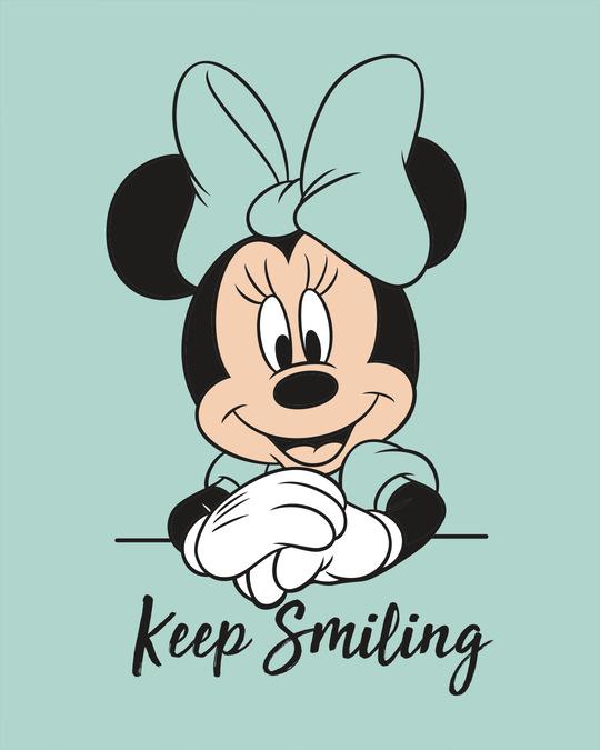 Shop Keep Smiling Minnie Boyfriend T-Shirt (DL)