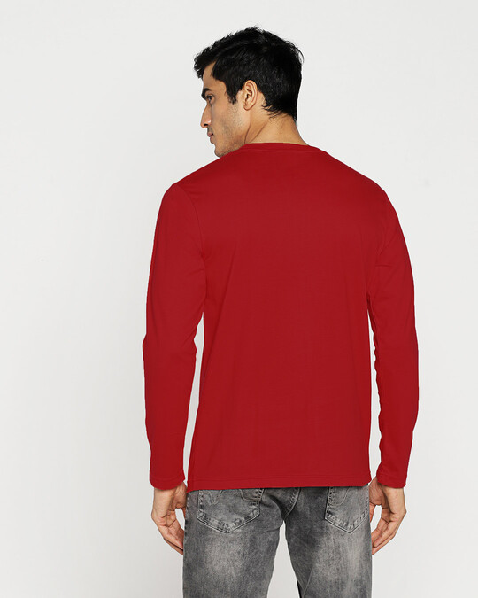 Shop Khadoos Full Sleeve T-Shirt Bold Red-Design