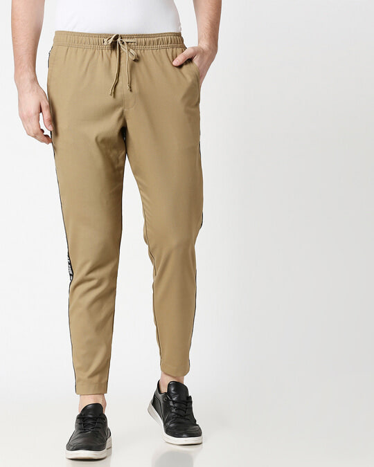Shop Khaki Men's Casual Pants-Back