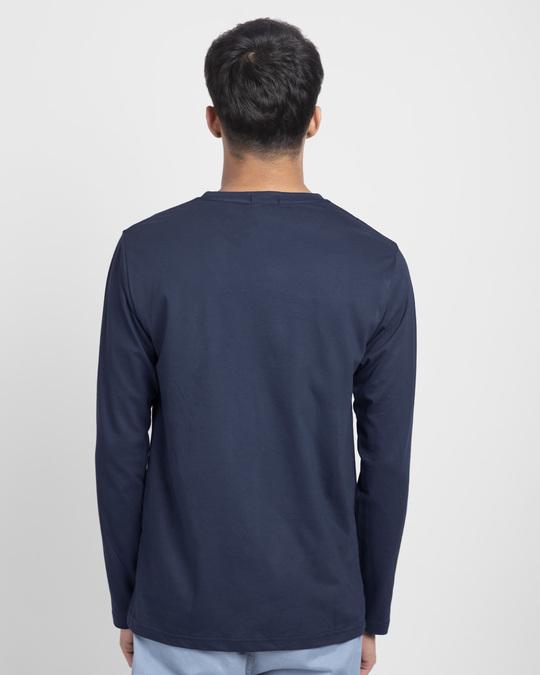Shop Khana Kidhar Hain Full Sleeve T-Shirt-Back
