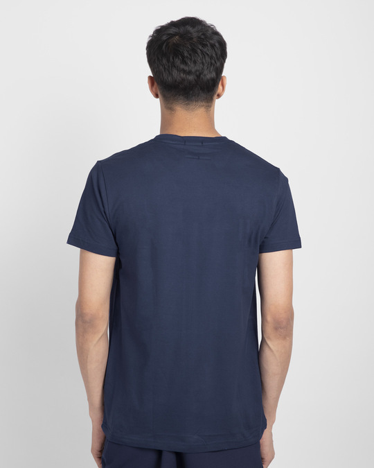 Shop Khana Kidhar Hain Half Sleeve T-Shirt-Back