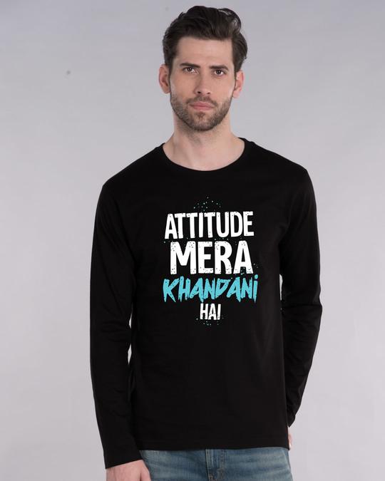 Shop Khandani Full Sleeve T-Shirt-Front