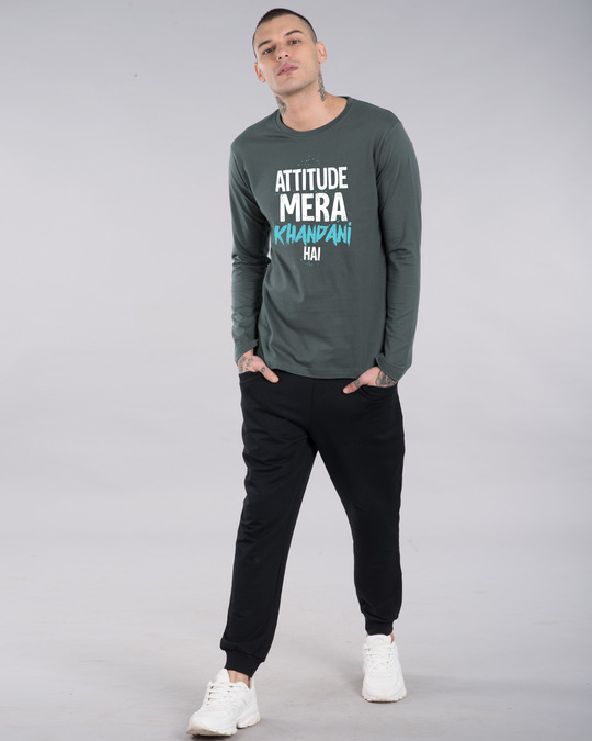 Shop Khandani Full Sleeve T-Shirt-Design