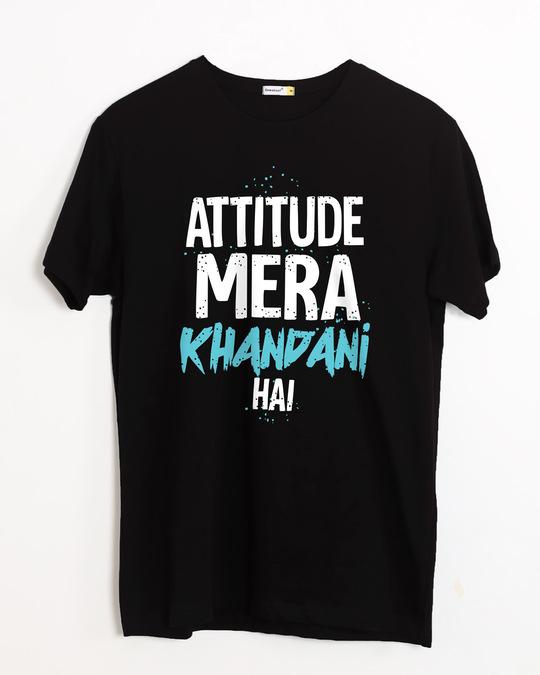 Shop Khandani Half Sleeve T-Shirt-Front