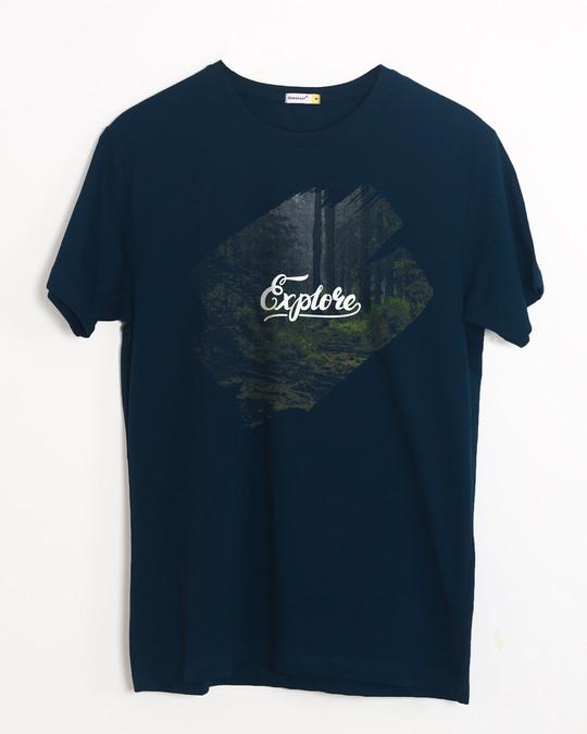 Shop Kho Jao Half Sleeve T-Shirt-Front
