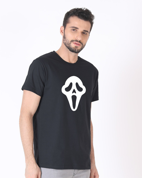 Shop Killer Mask Half Sleeve T-Shirt (GID)-Design