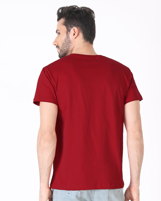 Shop King Of The Road Half Sleeve T-Shirt-Back