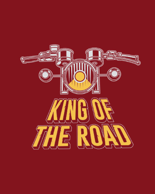 Shop King Of The Road Half Sleeve T-Shirt-Full