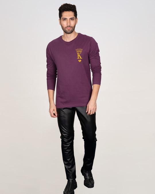Shop King Pocket Gold  Full Sleeve T-Shirt