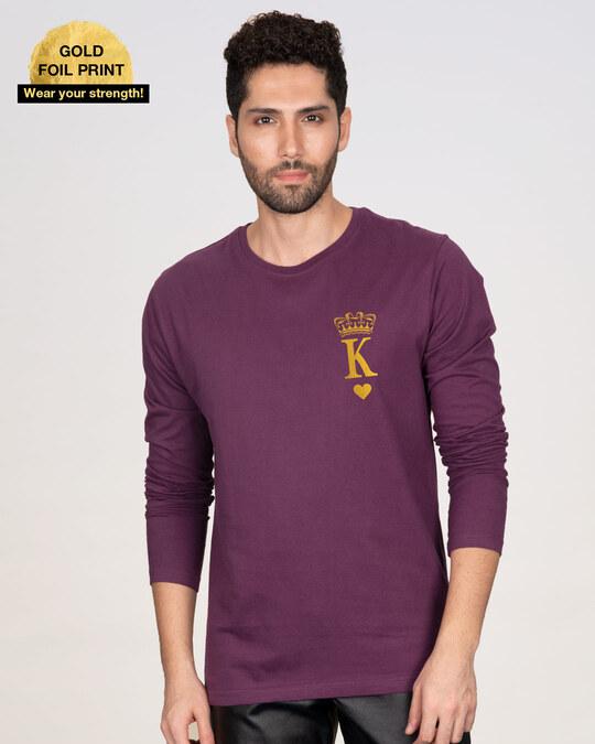 Shop King Pocket Gold  Full Sleeve T-Shirt-Back