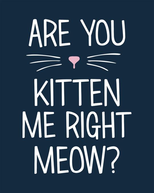 Shop Kitten Me Boyfriend T-Shirt