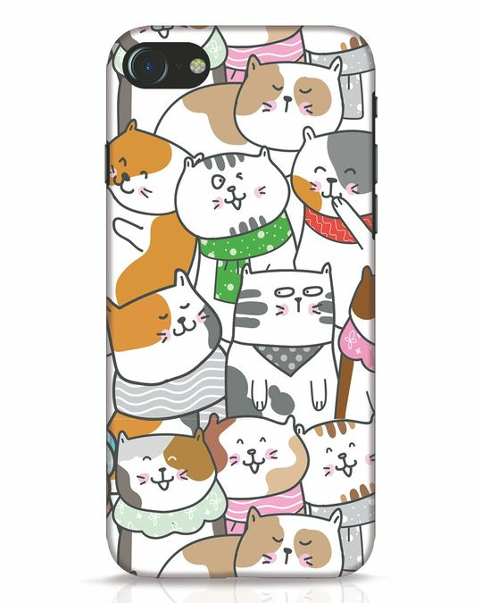 Shop Kitties iPhone 8 Mobile Cover-Front