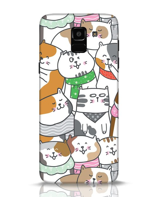 Shop Kitties Samsung Galaxy J6 Mobile Cover-Front