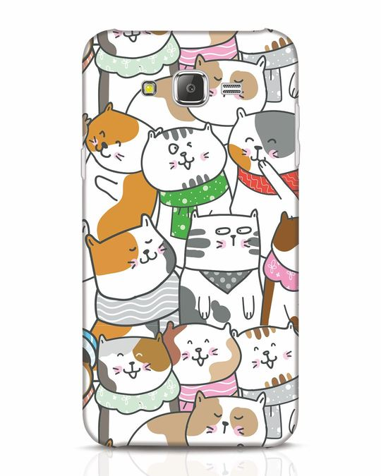 Shop Kitties Samsung Galaxy J7 Mobile Cover-Front