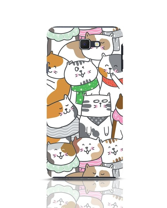 Shop Kitties Samsung Galaxy J7 Prime Mobile Cover-Front