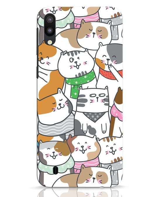 Shop Kitties Samsung Galaxy M10 Mobile Cover-Front
