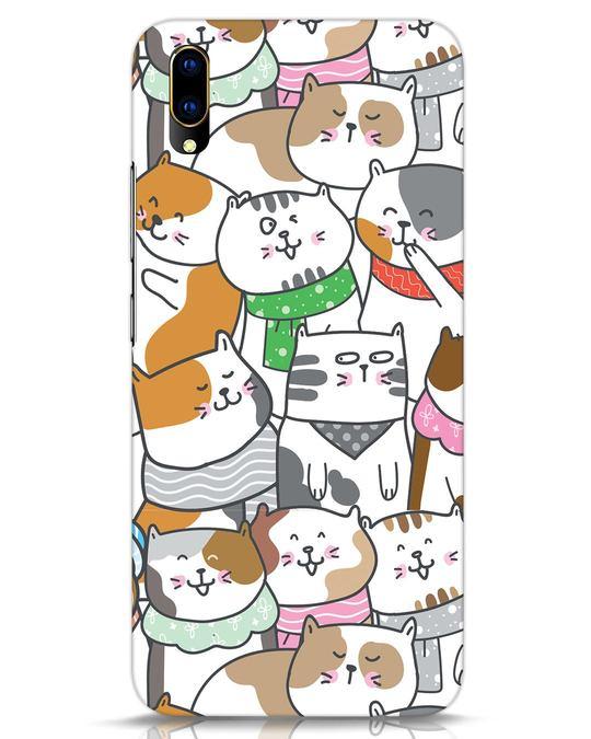 Shop Kitties Vivo V11 Pro Mobile Cover-Front