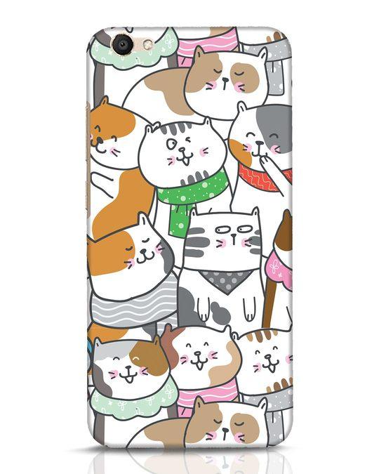 Shop Kitties Vivo V5 Mobile Cover-Front