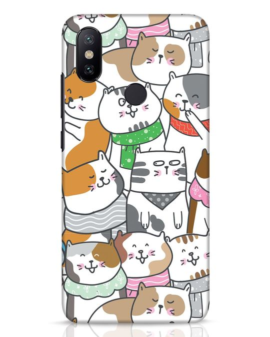 Shop Kitties Xiaomi Mi A2 Mobile Cover-Front
