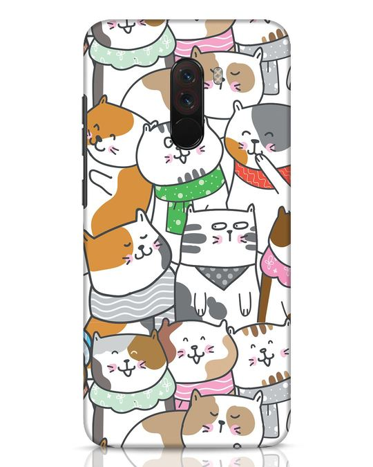 Shop Kitties Xiaomi POCO F1 Mobile Cover-Front