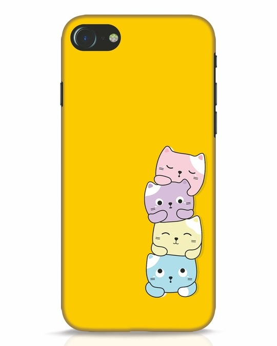 Shop Kitty Cats iPhone 8 Mobile Cover-Front