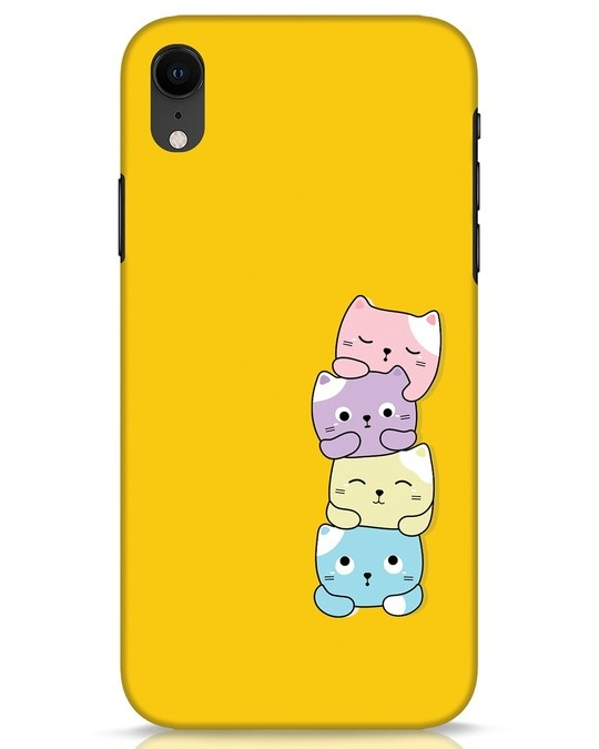 Shop Kitty Cats iPhone XR Mobile Cover-Front