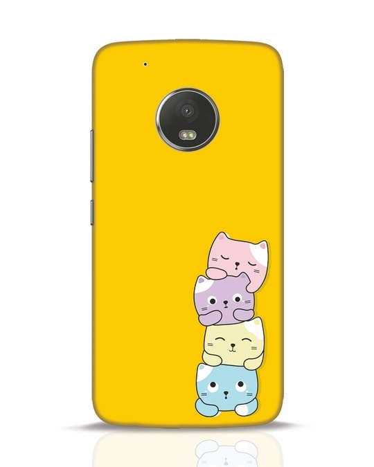 Shop Kitty Cats Moto G5 Plus Mobile Cover-Front