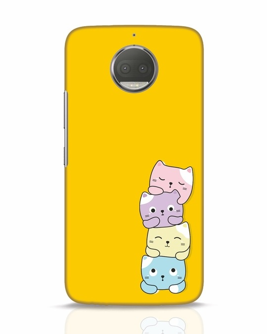 Shop Kitty Cats Moto G5s Plus Mobile Cover-Front