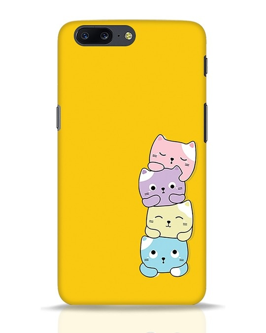 Shop Kitty Cats OnePlus 5 Mobile Cover-Front