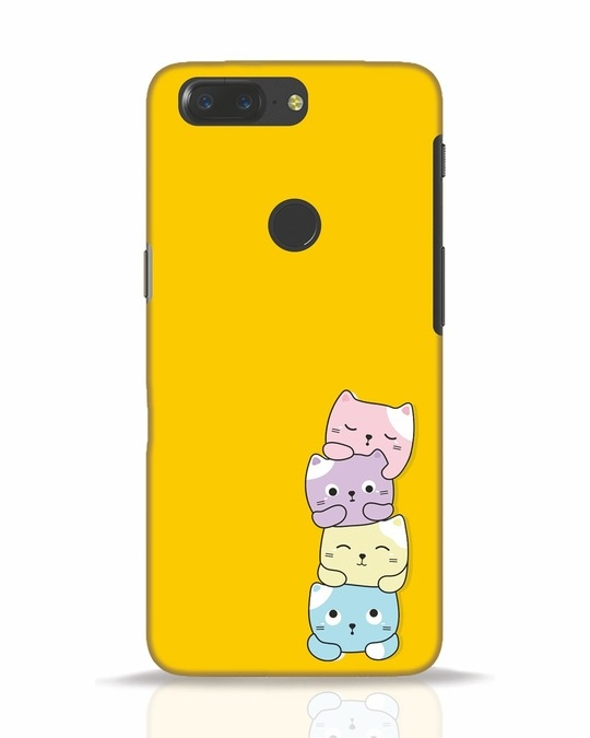 Shop Kitty Cats OnePlus 5T Mobile Cover-Front