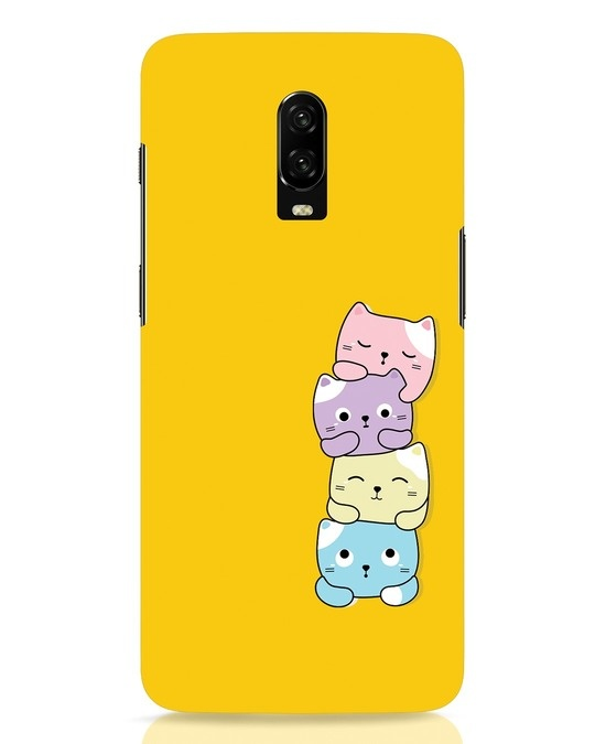 Shop Kitty Cats OnePlus 6T Mobile Cover-Front