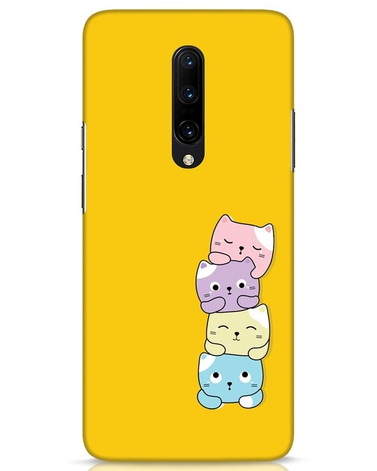 Shop Kitty Cats OnePlus 7 Pro Mobile Cover-Front