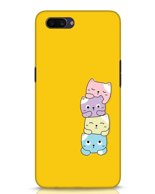 Shop Kitty Cats Oppo A3S Mobile Cover-Front