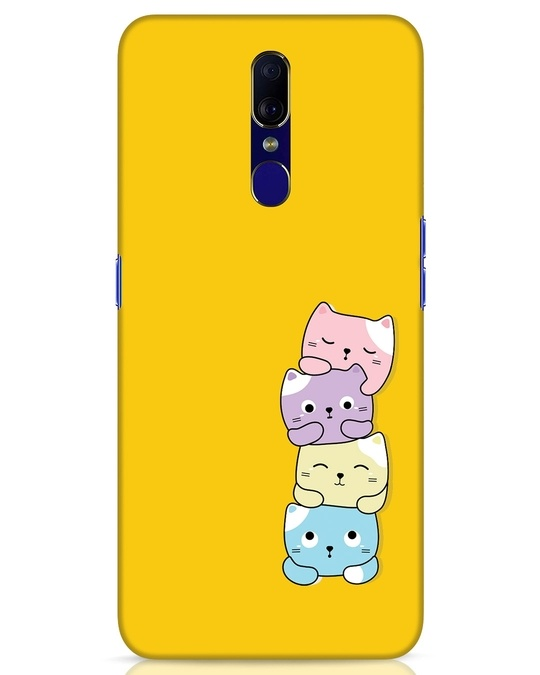 Shop Kitty Cats Oppo F11 Mobile Cover-Front