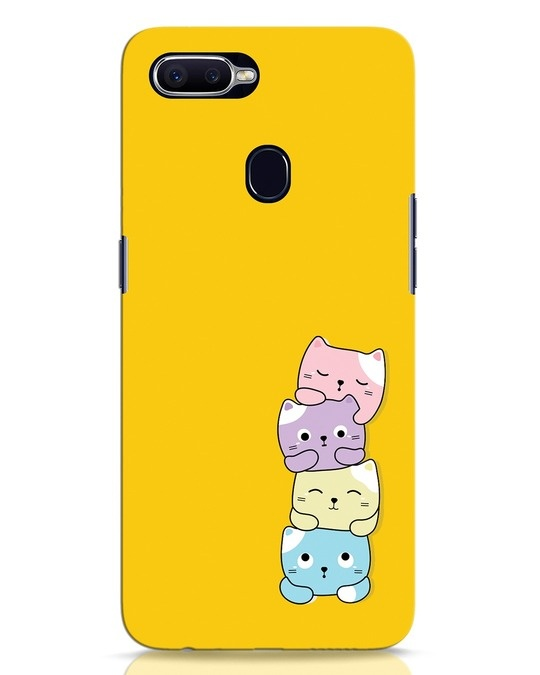 Shop Kitty Cats Oppo F9 Pro Mobile Cover-Front