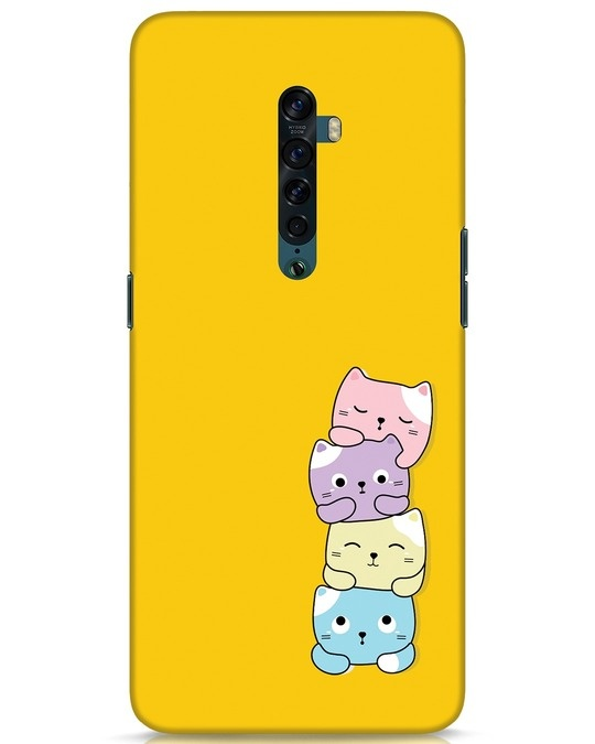 Shop Kitty Cats Oppo Reno 2 Mobile Cover-Front