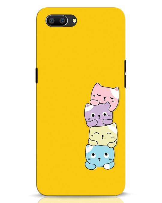 Shop Kitty Cats Realme C1 Mobile Cover-Front