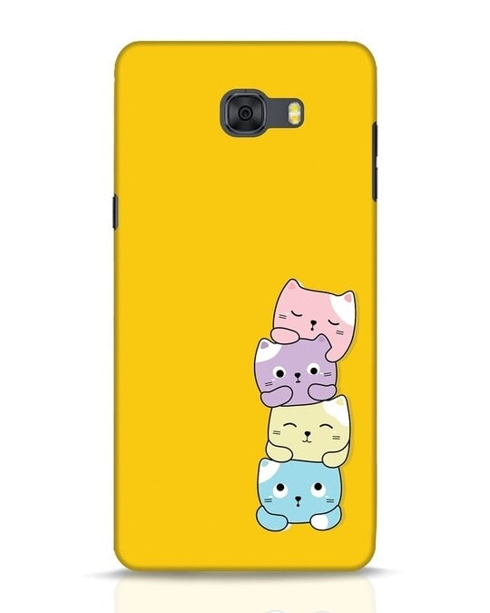 Shop Kitty Cats Samsung Galaxy C9 Pro Mobile Cover-Front
