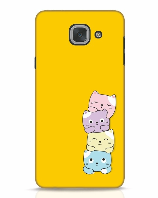 Shop Kitty Cats Samsung Galaxy J7 Max Mobile Cover-Front