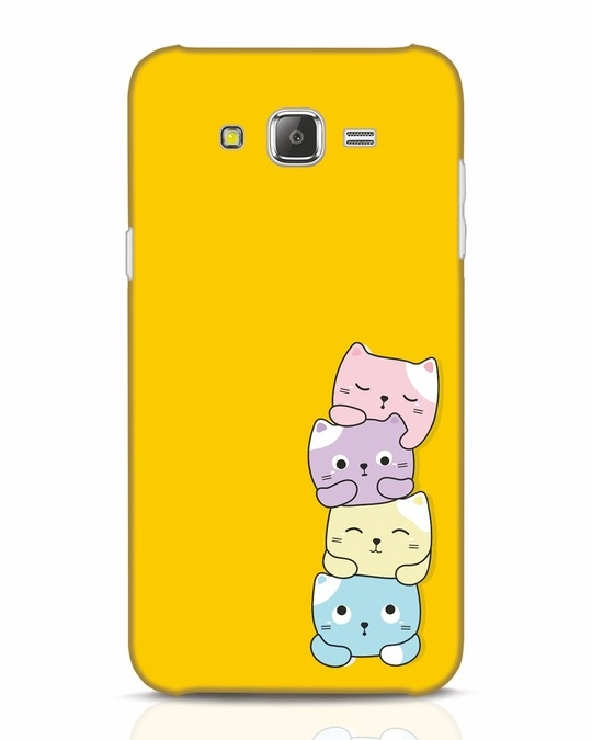 Shop Kitty Cats Samsung Galaxy J7 Mobile Cover-Front
