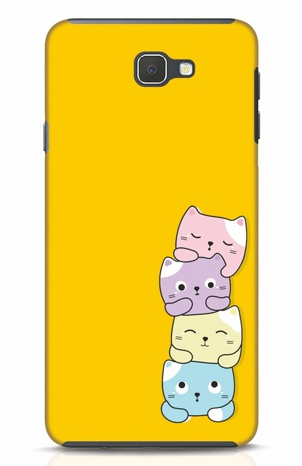 Shop Kitty Cats Samsung Galaxy J7 Prime Mobile Cover-Front