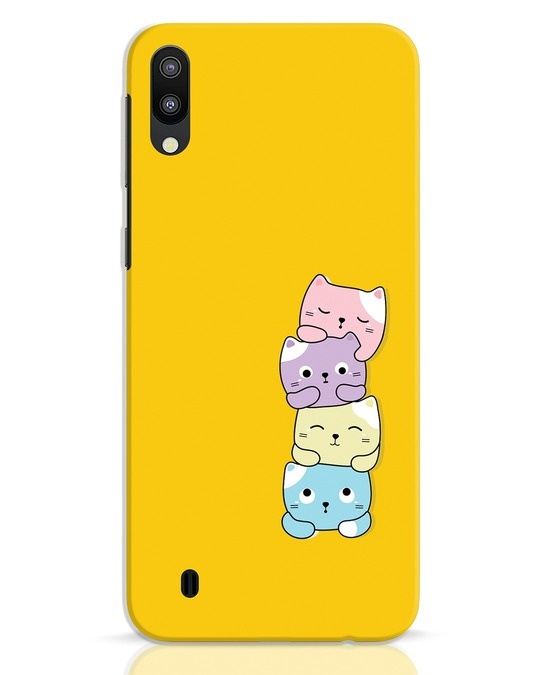 Shop Kitty Cats Samsung Galaxy M10 Mobile Cover-Front