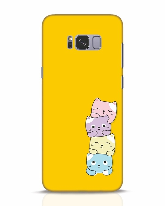 Shop Kitty Cats Samsung Galaxy S8 Plus Mobile Cover-Front