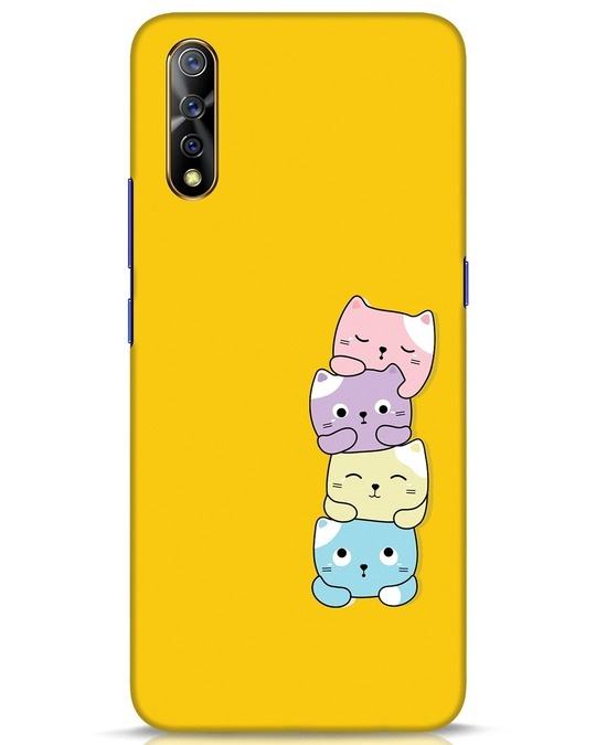 Shop Kitty Cats Vivo S1 Mobile Cover-Front