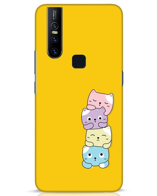Shop Kitty Cats Vivo V15 Mobile Cover-Front