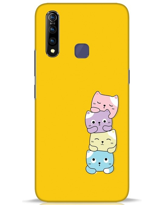 Shop Kitty Cats Vivo Z1 Pro Mobile Cover-Front