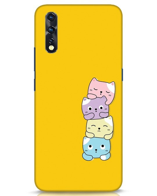 Shop Kitty Cats Vivo Z1x Mobile Cover-Front