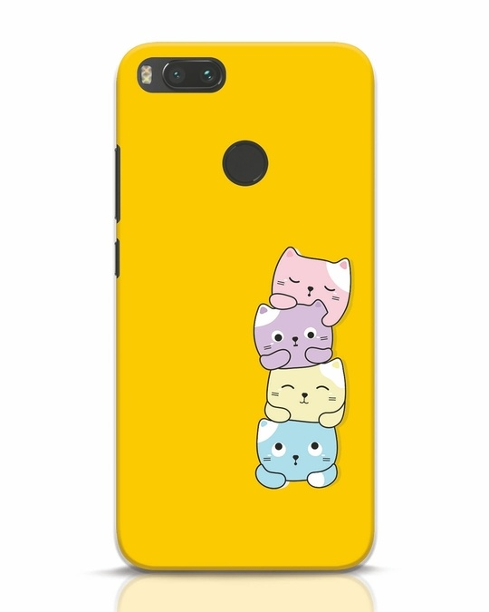 Shop Kitty Cats Xiaomi Mi A1 Mobile Cover-Front