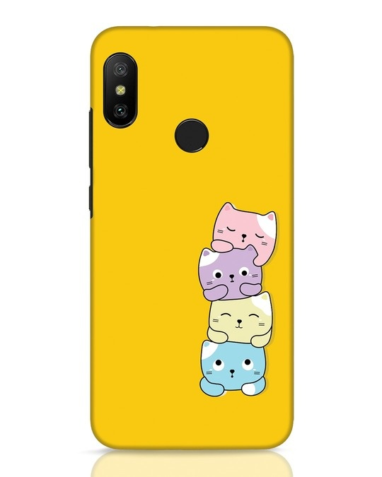 Shop Kitty Cats Xiaomi Redmi 6 Pro Mobile Cover-Front