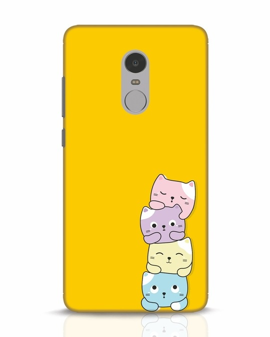 Shop Kitty Cats Xiaomi Redmi Note 4 Mobile Cover-Front